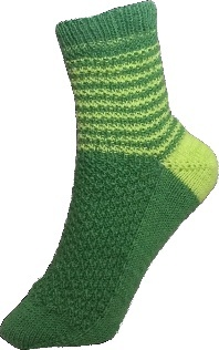 Green Welsh Dragon Sock