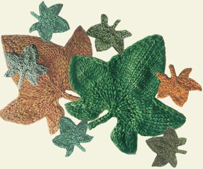 Knit Leaves Pattern : KNITTED LEAF PATTERN STITCH 1000 Free Patterns
